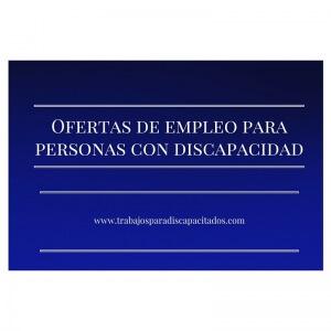 Ofertas Trabajo Para Discapacitados