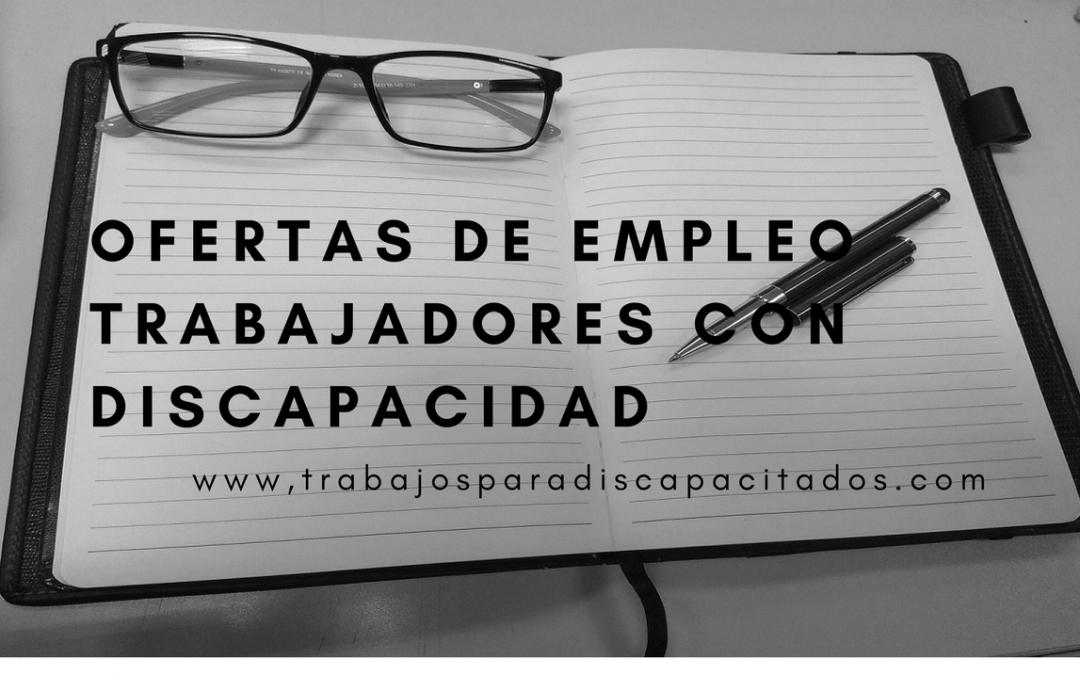 Empleo para profesionales con discapacidad