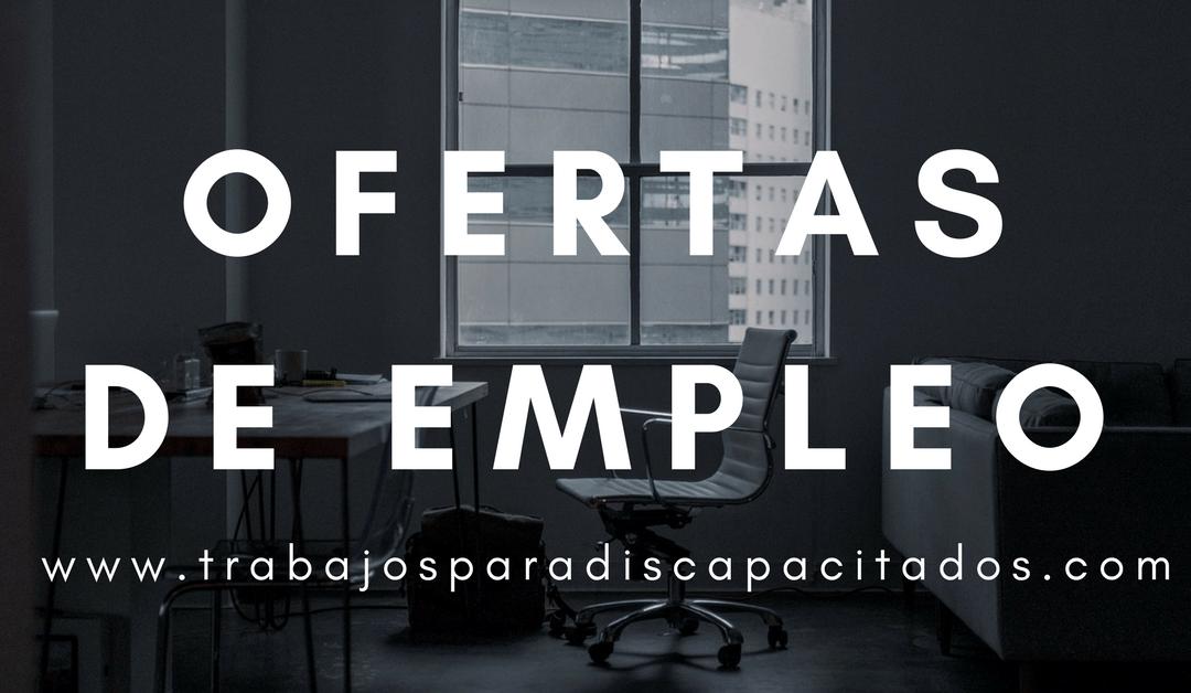 Ofertas de empleo para trabajadores con el certificado de discapacidad